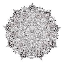 mandala doodles doodle coloring pages