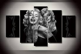Marilyn Monroe Art Online Buy Wholesale Marilyn Monroe Canvas Art From China Marilyn