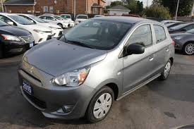 mitsubishi mirage used 2015 mitsubishi mirage es bluetooth for sale in brampton