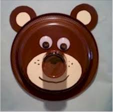 Monkey Paper Plate Craft - paper plate crafts