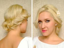 updos hairstyles medium hair length cute easy curly updo hairstyle