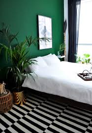 Dark Accent Wall In Small Bedroom Green Bedroom Decorating Ideas Impressive Decor Small Bedroom