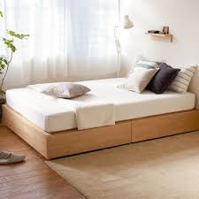 Muji Sofa Bed Review Best 25 Muji Bed Ideas On Pinterest Bed Design Low Beds And