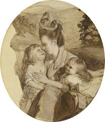 john singleton copley sketch for the copley family 1776 artsy