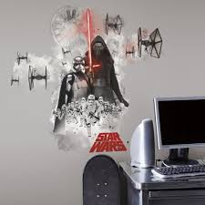 star wars kylo ren stormtroopers wall stickers great star wars kylo ren stormtroopers wall stickers