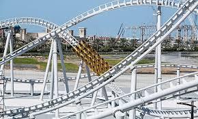 in abu dhabi roller coaster rollercoaster at abu dhabi around town