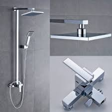 bathroom mixer shower set wit fixtures 8 shower head and handheld bathroom mixer shower set wit fixtures 8 shower
