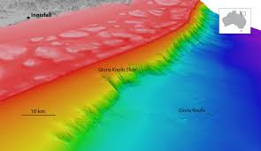 Great Barrier Reef Map Undersea Landslide Revealed On The Great Barrier Reef