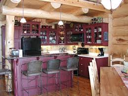 Repainting Cabinets Painting Kitchen Cabinets What Color The Log Home Neighborhood