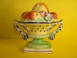 Bowl Of Fruits A Rare Staffordshire Pottery Bowl Of Fruit Albert Amor 18th