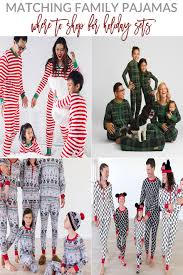 matching family pajamas best places to shop a la mode