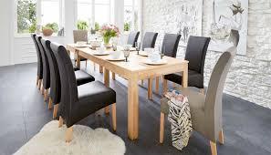 stuehle esszimmer ausziehbarer esstisch holz mit stühle esszimmer leder schwarz
