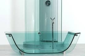 transparent bathtub glass bathtubs trend transparent bathtubs