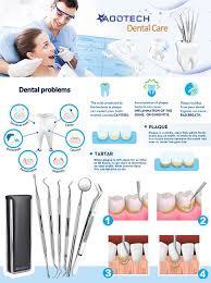 amazon com 6 pcs dental tools kit dentist picks plaque remover