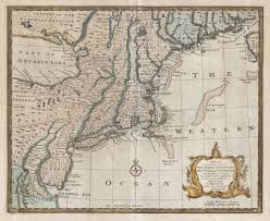 Map Of New England Coast by File 1747 Bowen Map Of New Jersey Pennsylvania New York And New