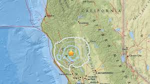 Usgs Earthquake Map California 5 1 Magnitude Earthquake Strikes In Northern California Abc7 Com