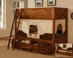 Cowboy Bunk Beds Renee How About This One Western Covered Wagon Bunk Bed