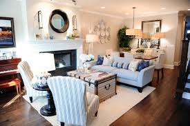 Living Room Setup With Fireplace by Decorating A Long Living Room 17 Long Living Room Ideas Home
