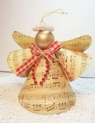 this christmas angel ornament is a pretty easy christmas craft to