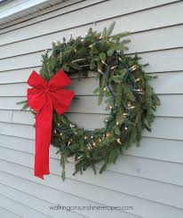 make your own christmas wreath thursday u0027s tip from walking on