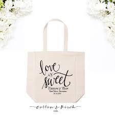 wedding guest bags personalized wedding tote bag calligraphy tote bag wedding