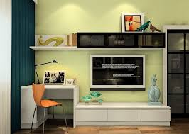 Desk And Bookshelf Combo 50 Photos Tv Stands Bookshelf Combo Tv Stand Ideas