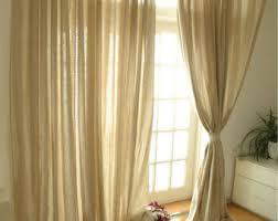 sheer curtains etsy