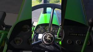 how to drive and operate a john deere 4020 youtube