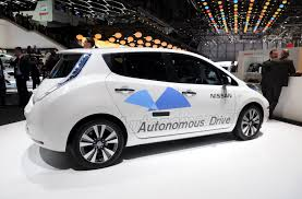 nissan cars png are autonomous vehicles the key to electrification