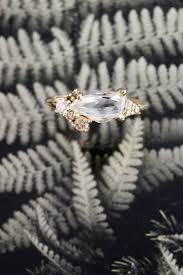custom cluster v shaped ring bario neal home bario neal anillos adornos y sueños