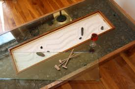 Tabletop Rock Garden Zen Garden Coffee Table Home Living Room Pinterest Coffee