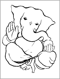 exceptional lady and the tramp colouring pages 11 ganesha