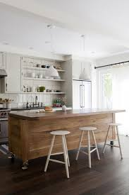 kitchen island with shelves parq two hole deck mount bridge kitchen sink faucet walnut