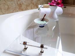Acrylic Bathroom Shelves by Diy Acrylic Bathtub Tray Diy Coconut U0026 Honey Milk Bath Be My