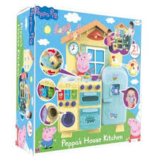 Pig Kitchen Curtains by Buy Peppa Pig Peppa U0027s House Kitchen From Our Toys For 5 8 Years
