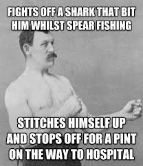 True Life Meme - true life overly manly man seen in todays guardian meme guy