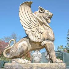 lion statue winged lion statue for sale vincentaa sculpture
