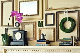 Home Decor Photo Frames Simplicity And Beyond U2013 How You Can Use Empty Frames As Wall Decor