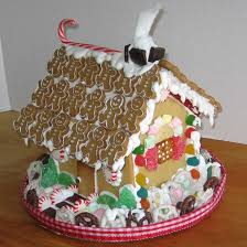 how to make and assemble a gingerbread house from scratch