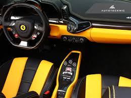 italia 458 interior autotecknic carbon fiber interior package 458 italia