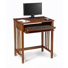 Small Wood Computer Desk Small Wood Computer Desk