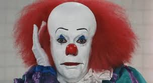 happy birthday creepy clown scary it happy birthday gif it happybirthday hi discover gifs
