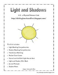 light and shadows lesson plans light and shadow a physical science unit for k 2 by catherine wood