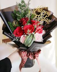 birthday bouquet happy birthday bouquet giftr malaysia s leading online gift shop