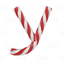 candy cane font letter y stock photo 477357933 istock