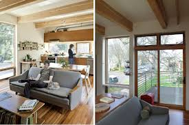 portland home interiors harpoon house is a smartly designed compact prefab home in