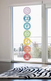 Meditation Home Decor 7pcs Set Chakras Vinyl Wall Stickers Mandala Yoga Om Meditation