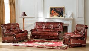 Brown Leather Recliner Chair Sale Furniture Exciting Living Room Furniture Design With Elegant Red