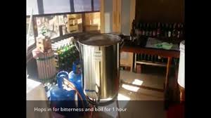 all grain home brew beer part 1 of 2 cerveza artesanal youtube