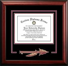 fsu diploma frame florida state spirit diploma certificate frame